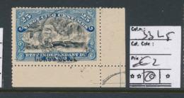 BELGIAN CONGO 1909 ISSUE COB 33 L5 USED - Belgisch-Kongo