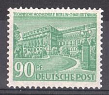 Berlin - 1949 - N° 42 - Neuf ** - Ecole Supérieur Technique De Charlottenbourg - Ungebraucht