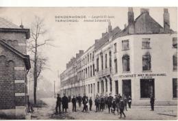 DENDERMONDE LEOPOLD II LAAN ESTAMINET IN HET BELGISCH VANDEL - Dendermonde
