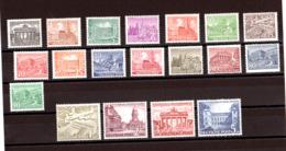 Berlin - 1949 - N° 28 à 46 - Neufs ** (MNH) - Monuments - Neufs