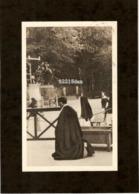 CP . 65 . LOURDES . LE FRÈRE MUTIEN MARIE EN PÈLERINAGE - Lourdes