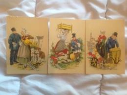 édition Barré & Dayez, Naudy Région De Belgique X 3 Flandre Brabant Liege (1194 - Naudy