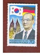COREA  DEL SUD (SOUTH KOREA)   - SG 1714  -     1986 PRESIDENTIAL VISIT IN GERMANY     - USED ° - Corea Del Sud
