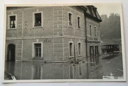 """Passau (Niederbayern) HOCHWASSER """"EISENLAGER A. KREILINGER"""" 1965? Ak (Bayern Innondation Real Photo Ppc C.p Deutschland - Passau"""