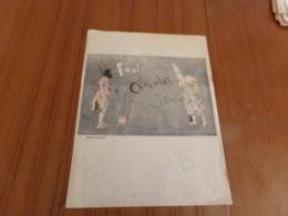 """Publicité """" Footitt Et Chocolat Du Nouveau Cirque """" ( 31 X 24 Cm ) - Publicités"""