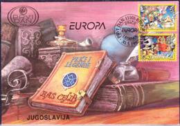 Jugoslawien Yugoslavia Yougoslavie - Europa (MiNr: 2821/2) 1997 - FDC - Europa-CEPT