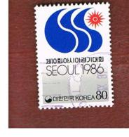 COREA  DEL SUD (SOUTH KOREA)   - SG 1743  -     1986    ASIAN GAMES, SEOUL (EMBLEM)    - USED ° - Corea Del Sud