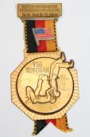 Médaille De Marche_025_deutsch-amerikanische Freundschaftswanderung 2nd Bde 3 Armd Div-VSG Kodokan - Belgique