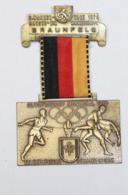Médaille De Marche_026_1976, 9 Wandertage Braunfels, Olympiastadt Montreal XXI Olympische Summer Spiele - Belgique