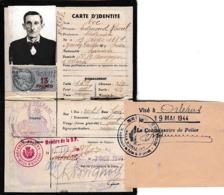 1940/44 - ORLEANS - CARTE D'IDENTITÉ - Membre De La DÉFENSE PASSIVE - Documents Historiques