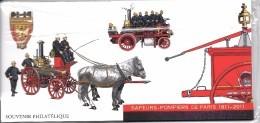Bicentenaire De La Brigade Des Sapeurs-pompiers De Paris, Les 6 Blocs Complets - Souvenir Blokken