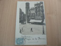 CP73 / ESPAGNE / VALENCE PLAZA DE LA REINA  / CARTE VOYAGEE - España