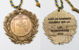 Médaille De Marche_027_1970-1978, Braunfels, 4e Int. Volksschwimmen, Natation, Swimming - België
