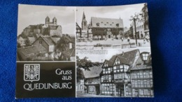 Gruss Aus Quedlinburg Germany - Quedlinburg