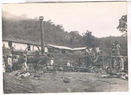 Inde? Photo 198x140. Scierie  Locomobile Ouvriers.MX96 - Inde