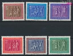 Luxemburg 517-522 (kompl.Ausg.) Postfrisch 1953 Heimatliches Brauchtum (9256372 - Ungebraucht
