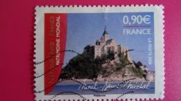 France 2006 Patrimoine Mondial émission Avec Nations Unis à Genève :Mont St Michel Et Son Abbaye - Obli. Used - Usati