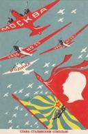 Soviet-Propaganda - Die Heimat Der Stalinistische Falken         (151201) - Russland