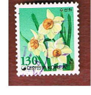 COREA  DEL SUD (SOUTH KOREA)   - SG 2034 -     1994  FLOWERS: NARCISSUS   - USED ° - Corea Del Sur