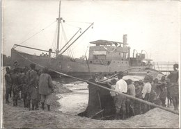 PHOTO ORIGINALE 1914-1918 [17X13] Cargo Francais En Rade De Campo (cameroun) - Guerre, Militaire