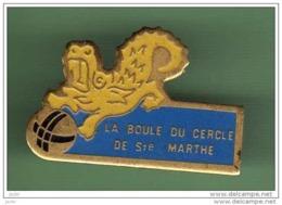 PETANQUE *** LA BOULE DU CECLE DE ST MARTHE *** 1050 - Pétanque
