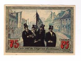 Notgeld 75 Pfennig Stadt Finsterwalde 1921  23272328 - Andere