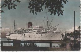 Paquebot Colombie En Guadeloupe à Pointe à Pitre - Passagiersschepen