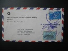 Lettre à Entête The Chase Manhattan Bank Panama    1962  Pour La Sté Générale En France   Bd Haussmann   Paris - Panama