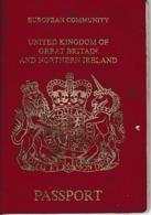 1992/2002 - PASSEPORT - UNITED KINGDOM Of GREAT BRITAIN And NORTHERN IRELAND - Documenti Storici