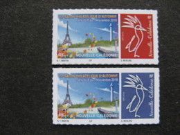 Nouvelle-Calédonie: TB Paire De Timbres Autoadhésifs N° 1350 Et N° 1351, Neufs XX . - Neufs