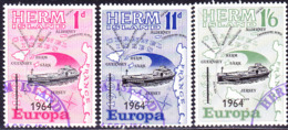 Herm Island - Europa (MiNr:) 1964 - Gest Used Obl - Europa-CEPT