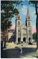 Viet Nam  Saigon Maxi Carte 280x180  La Cathedrale Mx99 - Viêt-Nam