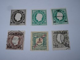 TIMBRE DE MACAO COLONIES PORTUGAISE 1888 N°32 / N°33A - 1891 N°42/44 ...- STAMPS LOT DE TIMBRES (AF) - Macao