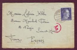 ALLEMAGNE - Lettre De SCHALKAU (Thuringe) Pour NANGIS (77) - 02/02/1943 - Lettres & Documents
