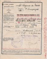 1822 - PERMISSION LIBÉRABLE - 12° Régiment De Génie - 8° Cie - Pour Aller à MONTAGNAC (34) - Documenti Storici