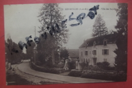 Cp Soignolles Le Pont Villa Des Sapins N 291 - France