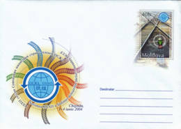 MOLDAVIE - 2004 - Entier Postal Neuf -  Rails - Moldavië