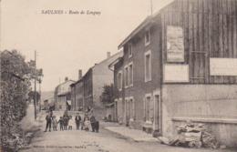 """Saulnes """" Rue De Longwy """"   ( Publicité  Bijouterie Heck / Longwy ) - Longwy"""
