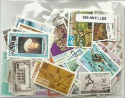 Lot 200 Timbres Des Antilles - Timbres