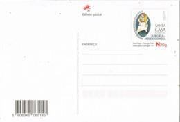 33958. Entero Postal PORTUGAL 2016. Jubileu Da Misericordia. Santa Casa Lisboa - Enteros Postales