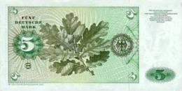 GERMANY FEDERAL REPUBLIC P. 30b 5 M 1980 UNC - [ 7] 1949-… : RFA - Rep. Fed. De Alemania