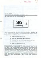 Die Nummernaufkleber Der Hannoverschen Post Von Dr. Hans Roessner - Hanovre
