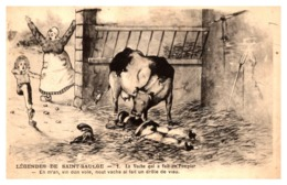 Légendes De Saint Saulge - La Vache Qui A Fait Un Pompier.... - Sapeurs-Pompiers