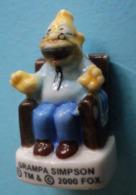 Feve - Grampa Simpson - Les Aventures Des Simpson - 2008 - Strips