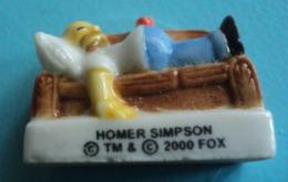 Feve - Homer Dormir - Simpson - 2000 - Cómics