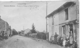L'ARGONNE-SOMME-BIONNE.ENTRÉE DU VILLAGE ET ROUTE DE VALMY.1930. - Autres Communes
