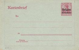 Kartenbrief Zone Etappen N° 4 - German Occupation