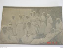 C.P.A.Carte Photo.- Salonique - L'Equipe D'Infirmières (Mlle Barbé L.) à L'Hôpital Temporaire 2 - 1916 - SUP (AD67) - Croix-Rouge
