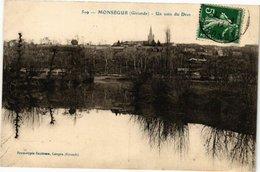 CPA MONSÉGUR (Gironde) - Un Coin Du Drot (229820) - France