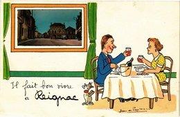 CPA Il Fait Bon Vivre A Reignac (229821) - France